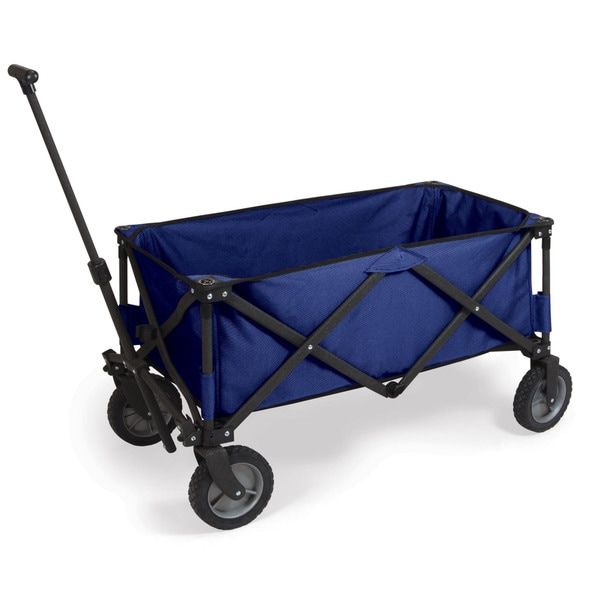 Picnic Time Adventure Wagon Folding Utility Wagon Navy
