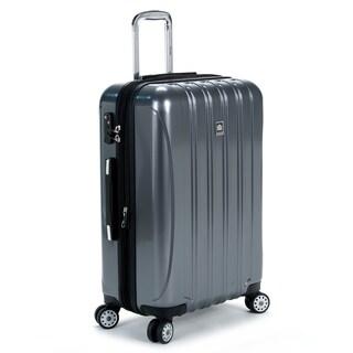 DELSEY Paris Helium Aero Titanium Grey 25-inch Expandable Hardside Spinner Suitcase