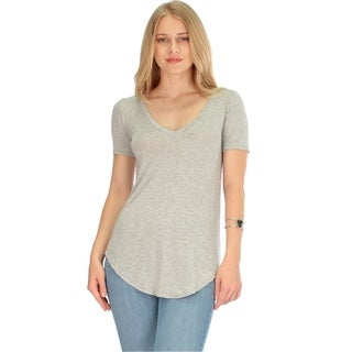 Truly Madly Deep-V-Neck Women's Tunic Top