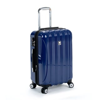 Delsey Helium Aero Cobalt Blue 20-inch Expandable Hardside Carry On Spinner Suitcase
