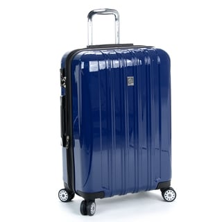Delsey Helium Aero Cobalt Blue 25-inch Expandable Hardside Spinner Upright Suitcase