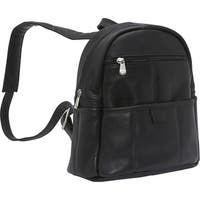 LeDonne Leather Women's Leather Quick Slip Backpack