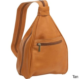 LeDonne Leather Women's Leather Convertible Sling Strap Backpack (3 options available)