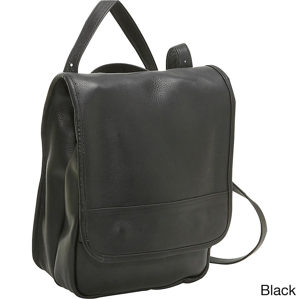 Ledonne Leather Women's Leather Convertible Backpack and ...