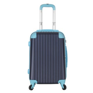 Brio Luggage 22-inch Hardside Carry On Suitcase with Spinner Wheels