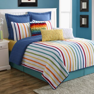 Baja Stripe 3-piece Quilt Set by Fiesta (2 options available)