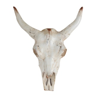 Faux Steer Wall Decor