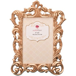 Rose Gold Baroque Frame