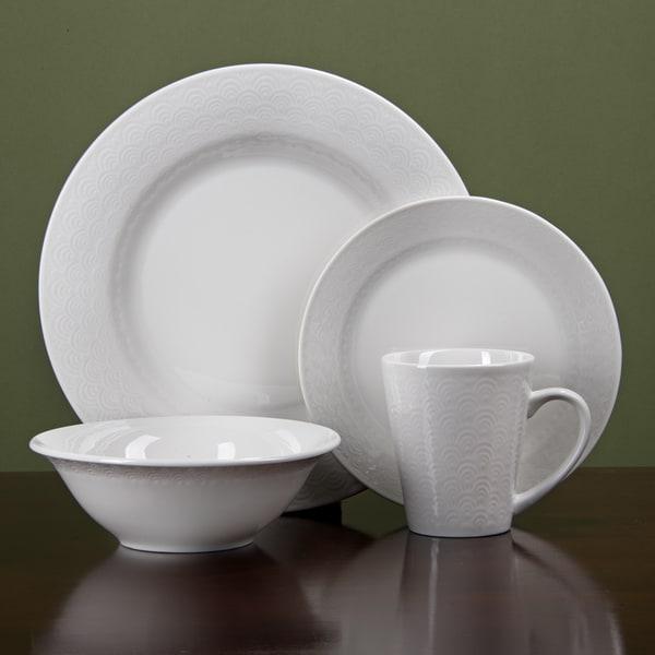 corelle impressions 16 piece dinnerware set service for