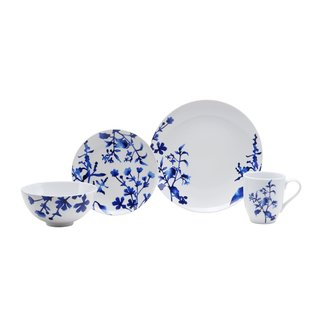 Oneida Tranquility Blue Dinnerware 32-Pc Set, Service for 8