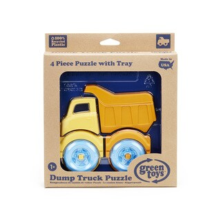 Green Toys Dump Truck 3D Puzzle (Colors Vary)