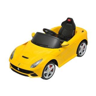 Best Ride On Cars Ferrari F12 -12V Yellow