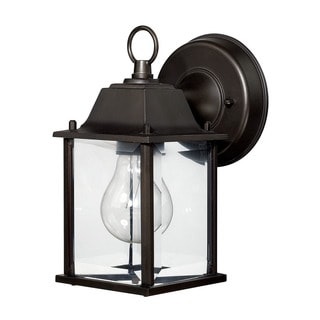 Capital Lighting Traditional 1-light Old Bronze Outdoor Wall Lantern