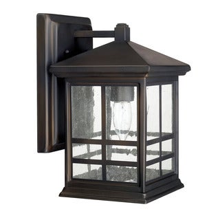 Capital Lighting Preston Collection 1-light Old Bronze Outdoor Wall Lantern