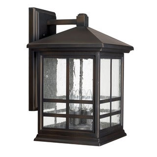 Capital Lighting Preston Collection 4-light Old Bronze Outdoor Wall Lantern