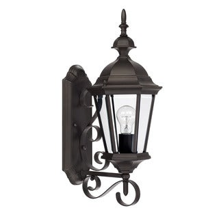 Capital Lighting Carriage House Collection 1-light Old Bronze Outdoor Wall Lantern