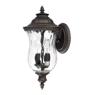 Capital Lighting Ashford Collection 2-light Old Bronze Outdoor Wall Lantern