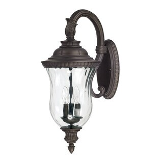 Capital Lighting Ashford Collection 3-light Old Bronze Outdoor Wall Lantern