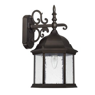 Capital Lighting Main Street Collection 1-light Old Bronze Outdoor Wall Lantern