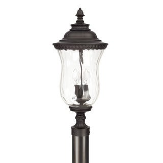 Capital Lighting Ashford Collection 3-light Old Bronze Outdoor Post Lantern