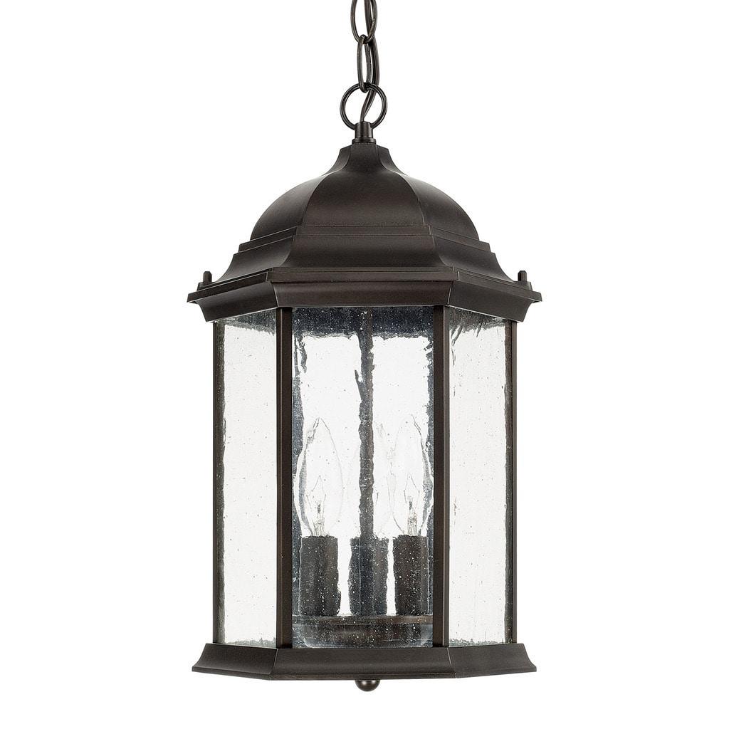 Old Bronze Outdoor Hanging Lantern