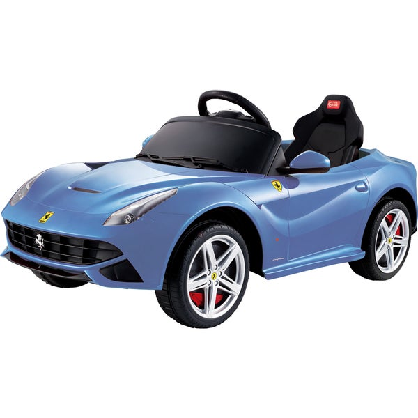 Best Ride On Cars Ferrari F12 -12V Blue