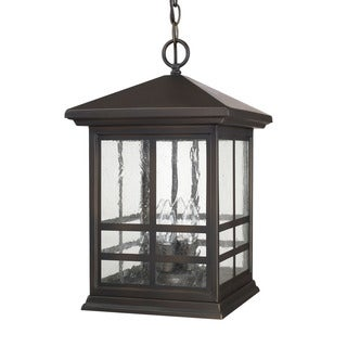 Capital Lighting Preston Collection 4-light Old Bronze Outdoor Hanging Lantern