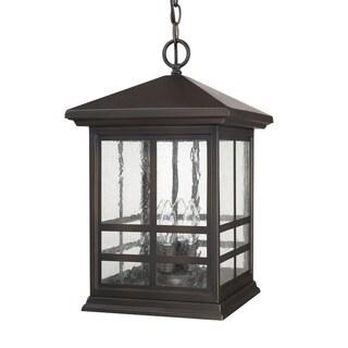 Capital Lighting Preston Collection 4-light Old Bronze Outdoor Hanging Lantern
