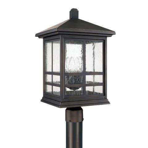 Preston 4-light Old Bronze Outdoor Post Lantern