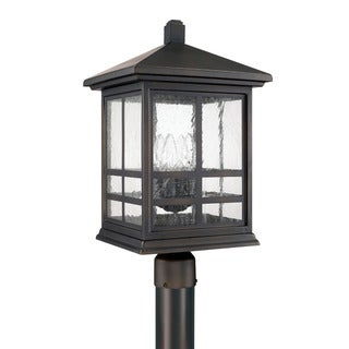 Capital Lighting Preston Collection 4-light Old Bronze Outdoor Post Lantern