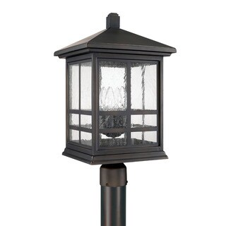 Capital Lighting Preston Collection 4-light Old Bronze Outdoor Post Lantern