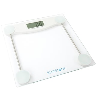 Link to Bluestone Digital Glass Bathroom Scale with LCD Display Similar Items in Weight Management