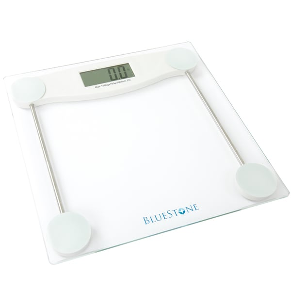 Bluestone Digital Glass Bathroom Scale With LCD Display Free Shipping On Or