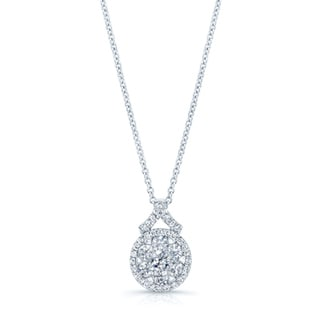 14k White Gold 5/8ct TDW Diamond Pendant (G-H, VS-SI)