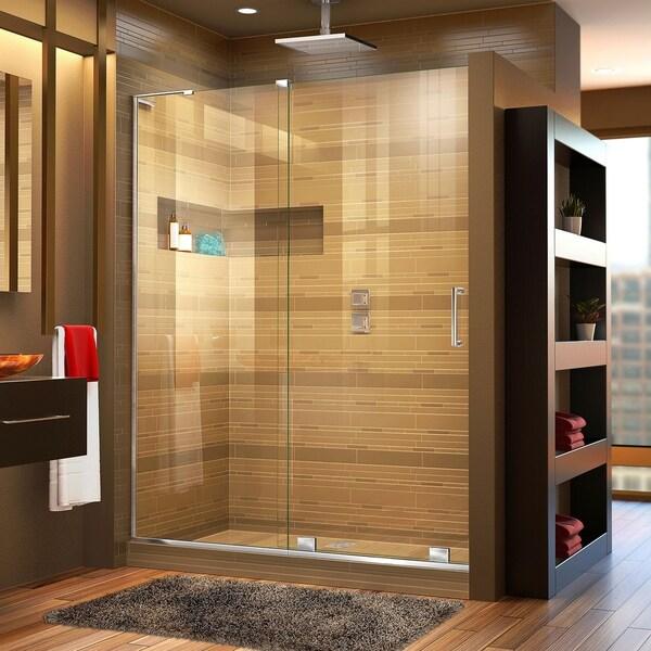 DreamLine Mirage-X 44-48 in. W x 72 in. H Frameless Sliding Shower Door