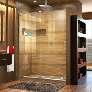 DreamLine Mirage-X 44 - 48 in. W x 72 in. H Sliding Shower Door