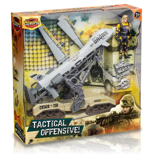 The Corps Tactical Offensive Drone Playset