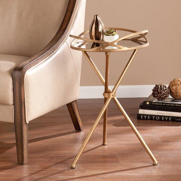 Harper Blvd Linda Metal Mirrored Accent Table