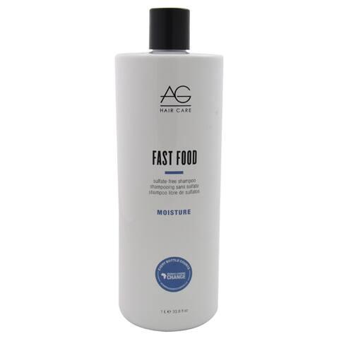 AG Hair Care Moisture Fast Food 33.8-ounce Sulfate Free Shampoo