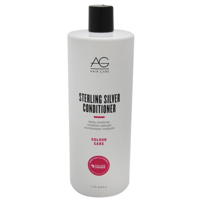 AG HAIR Care Colour Sterling Silver Toning 33.8-ounce Con...