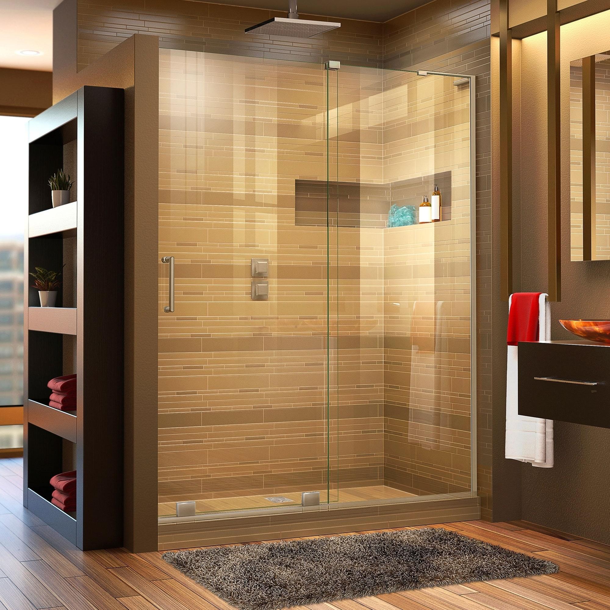 Dreamline Mirage X 56 60 In W X 72 In H Frameless Sliding Shower Door