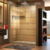 DreamLine Mirage-X 56-60 in. W x 72 in. H Frameless Sliding Shower Door