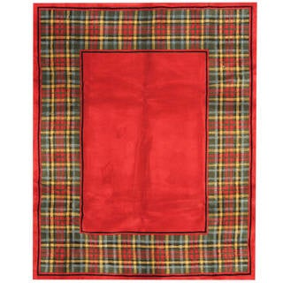 Handmade One-of-a-Kind Tibetan Wool Rug (India) - 7'6 x 9'6