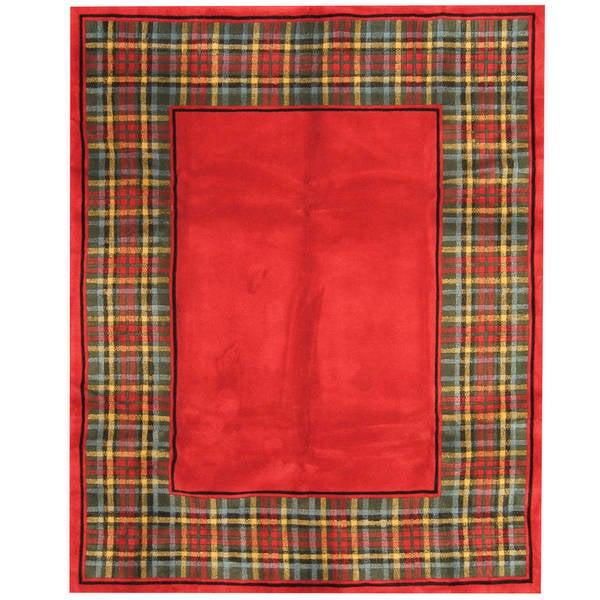 Herat Oriental Indo Hand-tufted Tibetan Wool Rug (7'6 x 9'6) - 7'6 x 9'6