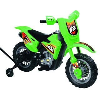 Best Ride On Cars Mini Dirt Bike Green 6V