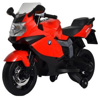 Shop Best Ride On Cars BMW Ride On Motorcycle Red - On Sale