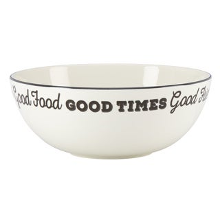 Lenox Around the Table 'Good Friends, Good Times' 8-inch Serving Bowl