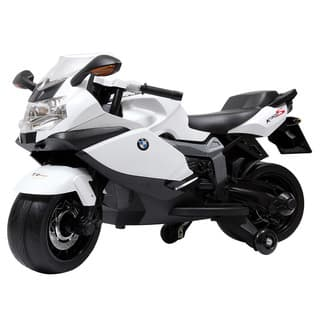 Best Ride On Cars BMW 12V Ride On Motorcycle, White|https://ak1.ostkcdn.com/images/products/11746408/P18662802.jpg?impolicy=medium