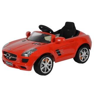 Best Ride On Cars Mercedes SLS AMG Red 12V Car