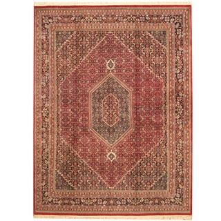 Herat Oriental Indo Hand-knotted Bidjar Wool Rug (7'8 x 10'1)